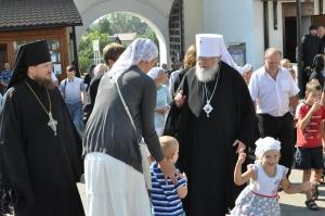 Владыка в монастыре преподобного Пафнутия Боровского
