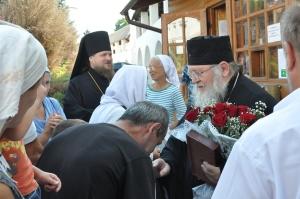 Встреча в монастыре