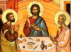 Явление Христа Луке и Клеопе Мк.16,12-13; Лк.24,13-35