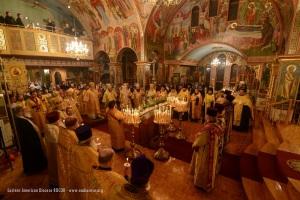 Праздничная литургия, 15-го ноября 2014 г.