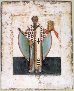Икона апостол Иаков, брат Господень. 16 век