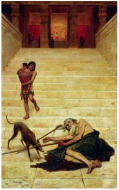 Лазарь у дома богача