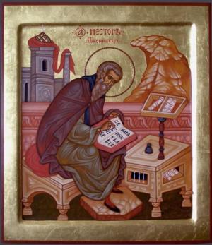 9 ноября Церковь чтит память святого преподобного Нестора Летописца