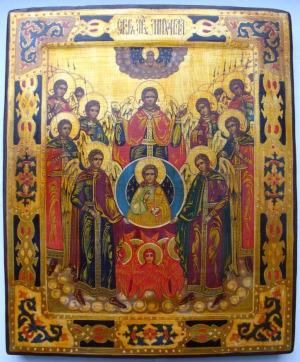 Празднование Собора Архистратига Божия Михаила и прочих Небесных Сил бесплотных установлено в начале IV века на Поместном Лаодикийском Соборе, бывшем за несколько лет до I Вселенского Собора