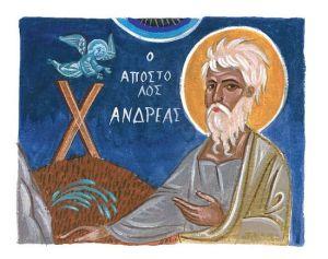 Святой Андрей – первый позванный Иисусом Христом к апостольскому званию
