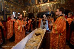 2 декабря 2014 г. Джорданвилль: Перезахоронение епископа Константина (Ессенского) возглавил Первоиерарх Русской Зарубежной Церкви