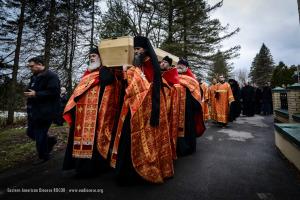 Перезахоронение епископа Константина (Ессенского) возглавил Первоиерарх Русской Зарубежной Церкви