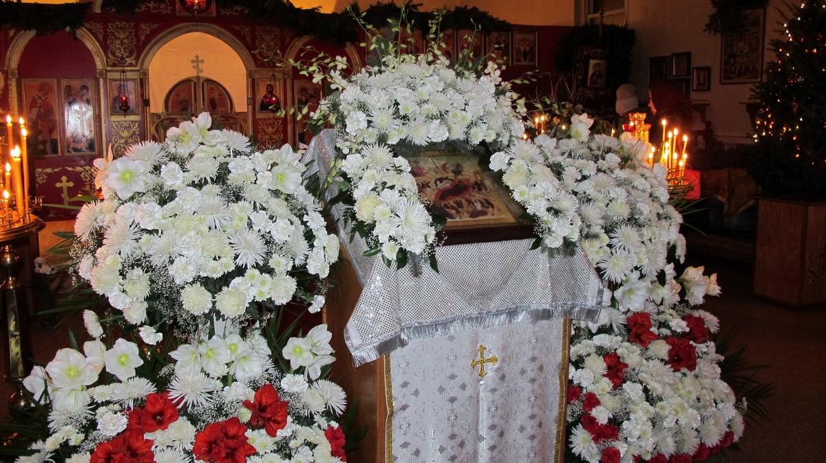Ранняя литургия на Рождество Христово, 7.01.2015