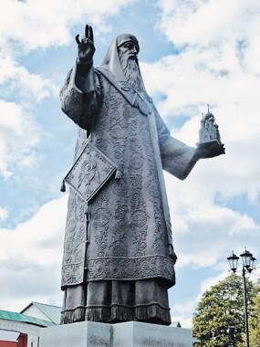 Памятник святителю Алексию