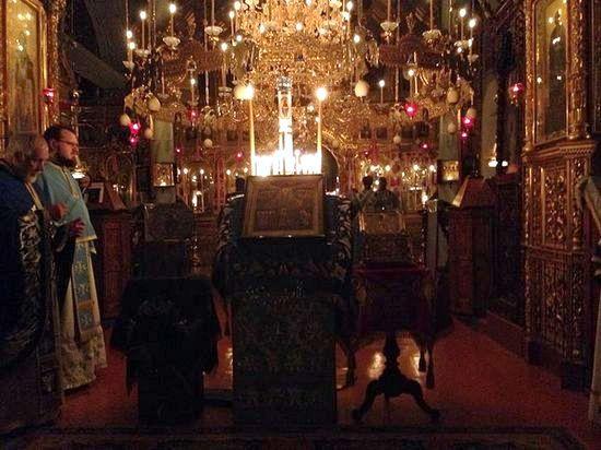 На Афоне почтили память Новомучеников и Исповедников Российских