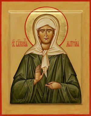Блаженная старица Матрона (урождённая Матрёна Дмиитриевна Никонова (9 (22) ноября 1881 — 2 мая 1952) — святая Русской православной церкви