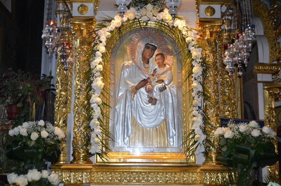 Песчанская икона Божией Матери, г.Изюм