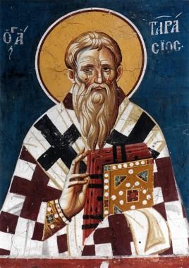 Святитель Тарасий патриарх Константинопольский