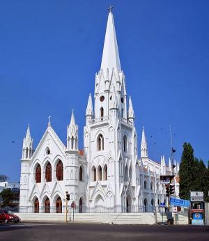 Индия, Ченнай (до 1996 года — Мадрас). Собор Святого Фомы