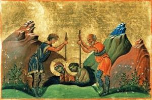 Святые мученики Хрисанф и Дария посвятили себя горячей проповеди среди римской молодежи и убедили множество юношей и девушек хранить целомудрие ради Бога