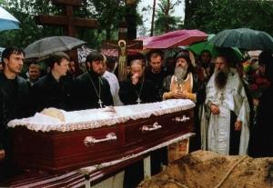 Похороны о.Михаила