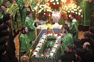 В Почаевской Лавре отпраздновали день памяти прп.Амфилохия Почаевского / Православие.Ru