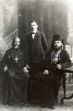 Отец Философ Орнатский, Василий Белоликов, отец Пимен Белоликов