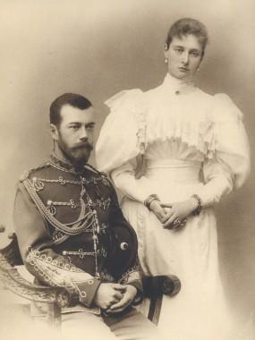 Царь Николай II и Царица Александра