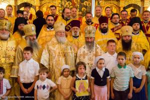 Торжественные Богослужения в в Св. Александро-Невском кафедральном соборе г.Ховелл, 18-19 июля 2015 г.