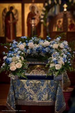 """Тихвинская икона Божией Матери, получившая наименование """"Царской"""""""