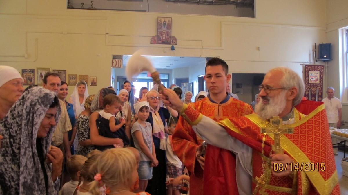 Изнесение Честных Древ Креста Господня. Медовый Спас,14 августа 2015
