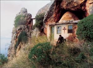 Место пустынных подвигов старца Иосифа Исихаста