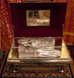 Мощи преподобномучеников Серафима и Феогноста Алма-Атинских