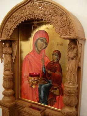 Святая праведная Анна с Богородицей