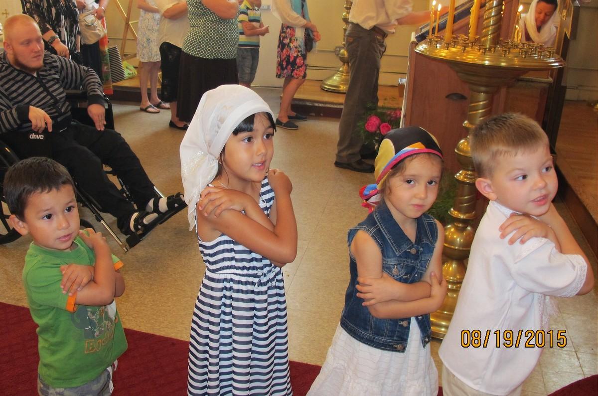 Праздник Преображения Господня, 19 августа 2015
