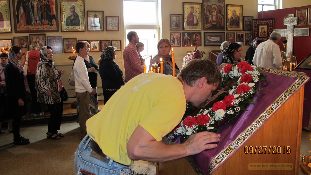 Праздник Воздвижения Креста Господня, 10.27.2015