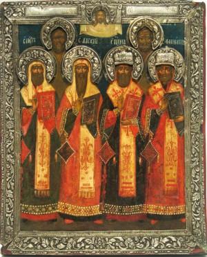 18 (5) октября — собор пяти святителей: Петра, Алексия, Ионы, Филиппа и Ермогена, Московских и всея России чудотворцев