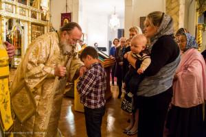 Митрополит Иларион благословил прихожан Знаменского собора г. Нью-Йорка