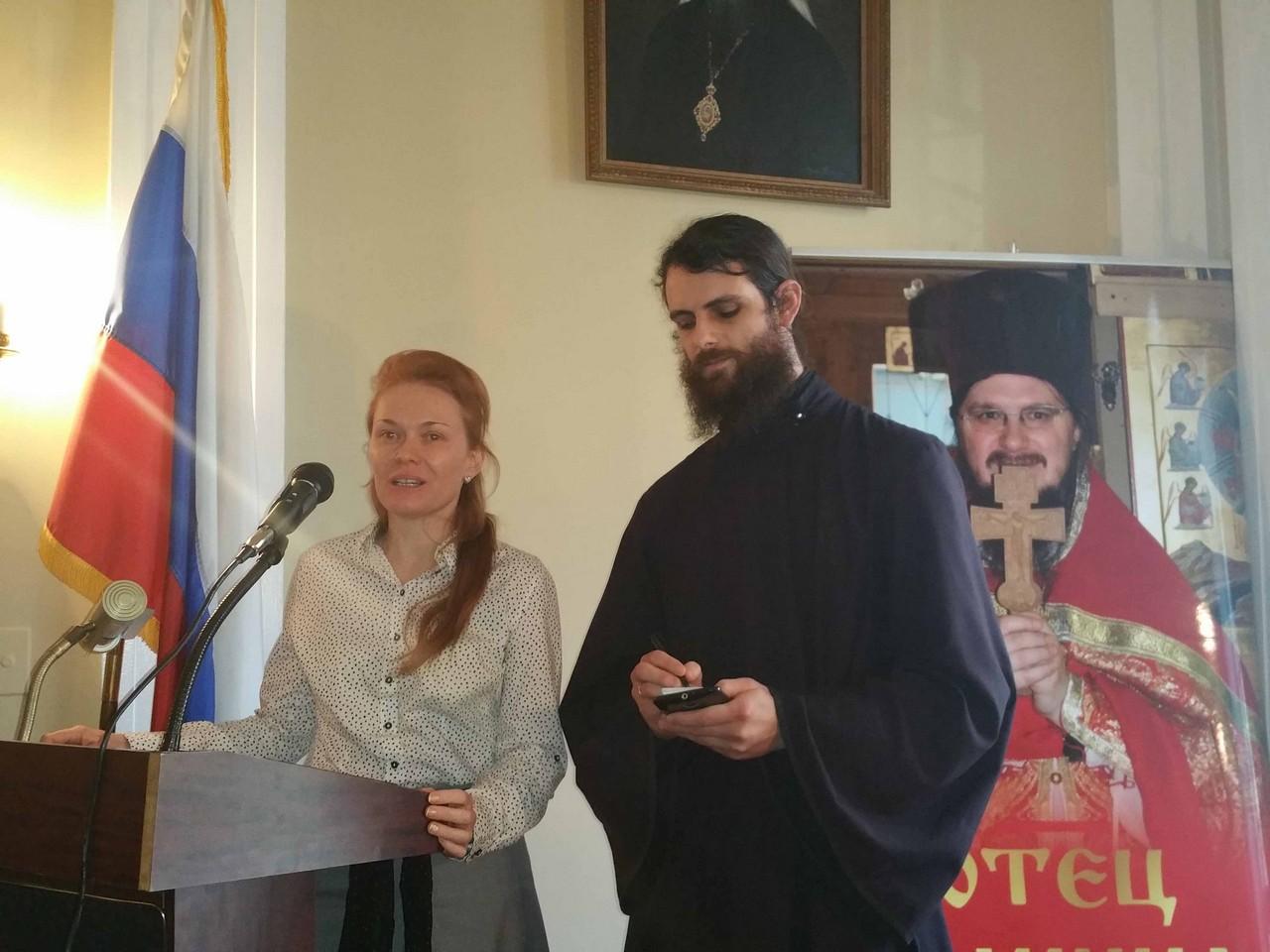 Вечер памяти о. Даниила Сысоева, 8.11.2015