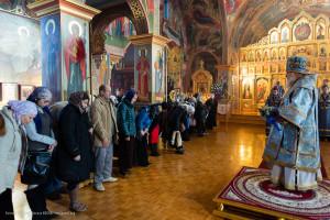 Праздничную Божественную литургию возглавил митрополит Восточно-Американский и Нью-Йоркский Иларион