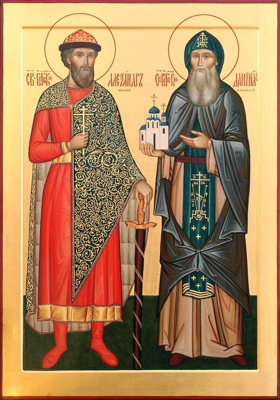 Александр невский картинки крещения