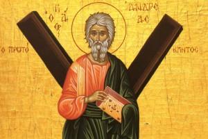 Святой всехвальный апостол Андрей Первозванный
