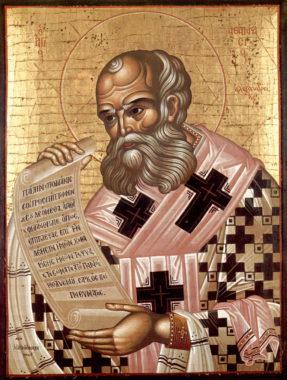 Святитель Афанасий Великий, Александрийский, архиепископ