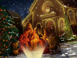 Рождественский свет у нашего порога