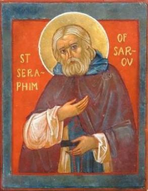 Преподобный Серафим: житель Святой земли