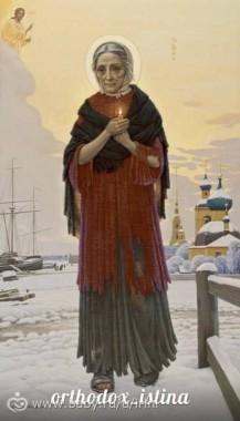 Ангел Петербурга - блаженная Ксения