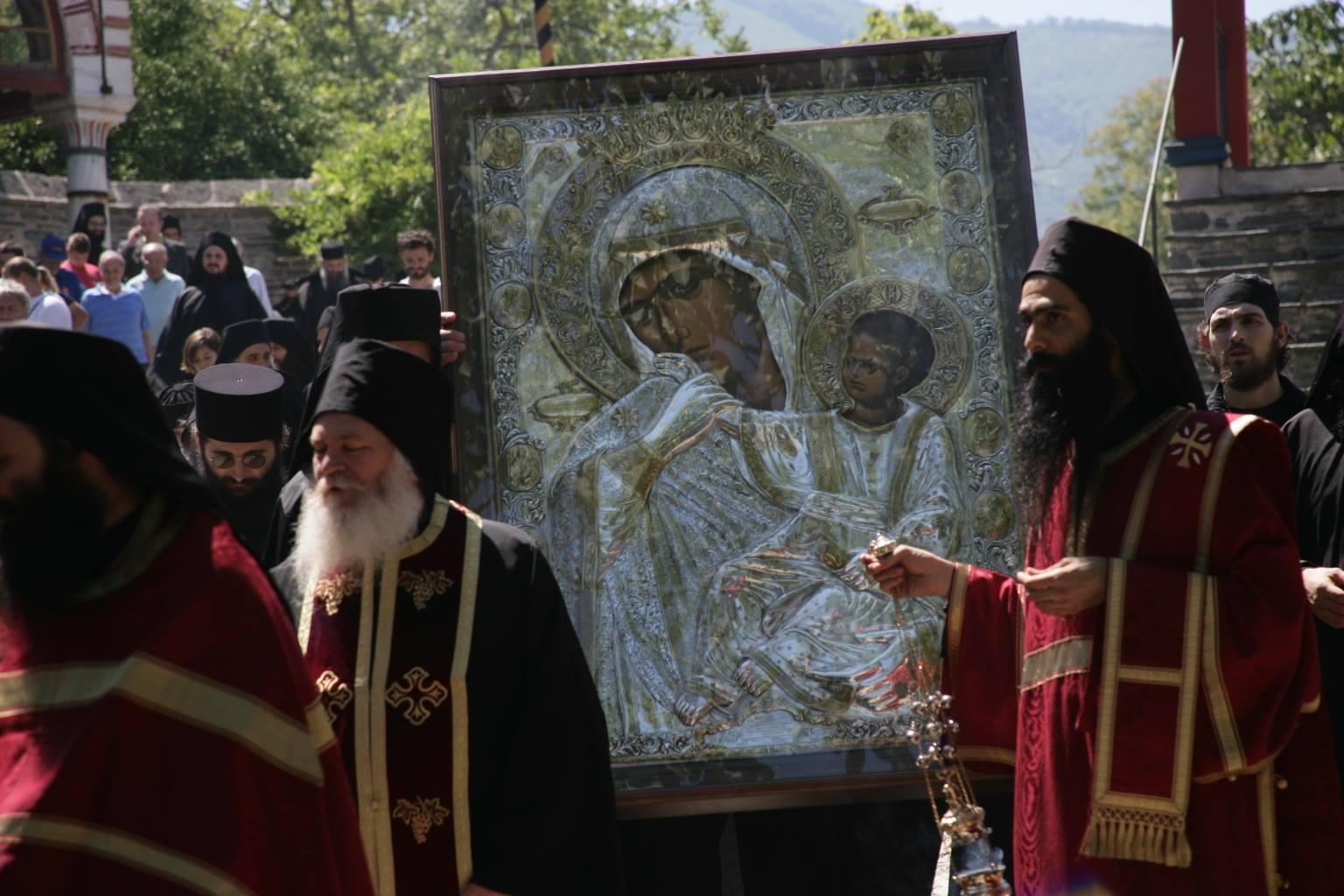"Икона Божией Матери ""Отрада"" или ""Утешение"""