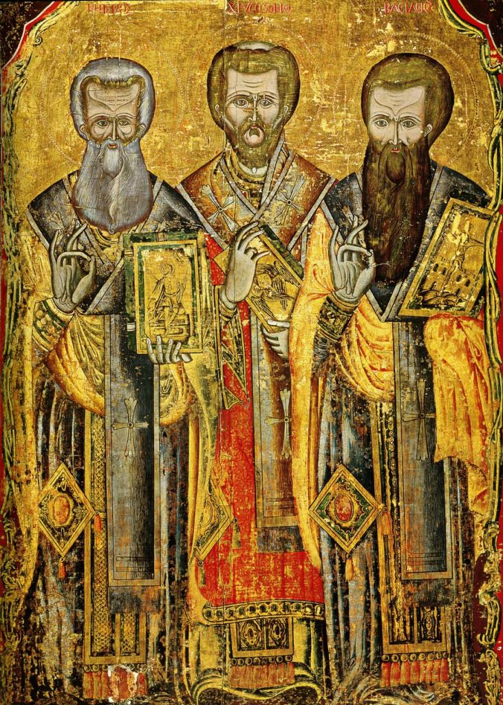 Собор святых Вселенских учителей и святителей Василия Великого, Григория Богослова и Иоанна Златоустого