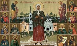 Святая блаженная Ксения Петербургская Христа ради юродивая
