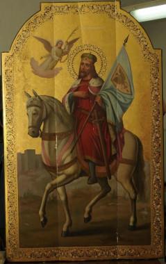 Мч. Вячеслав, князь Чешский. Икона. ЦАК. Московская Духовная Академия