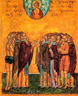 Собор преподобных отцев в подвиге просиявших