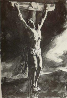 Распятие Христа на Голгофе