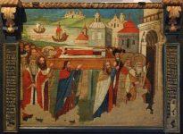 Перенесение мощей святителя и чудотворца из Мир Ликийских в Бар