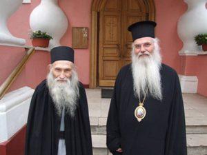 Митрополит Николай Месогейский и Схиархимандрит Илий (Ноздрин)