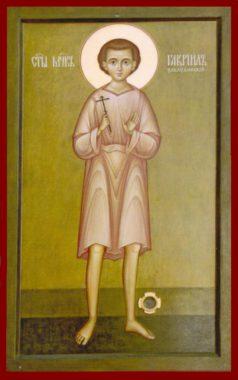Святой мученик младенец Гавриил Белостокский